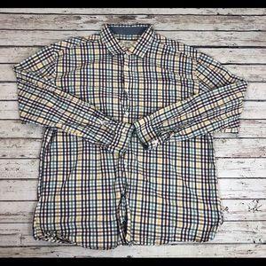 Ecko Unlimited Checkered Button Down Shirt Sz 3XL